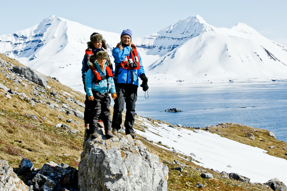 Hurtigruten - Family expedition cruise in Svalbard