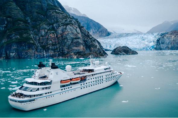Windstar Cruises - Star Legend in Alaska