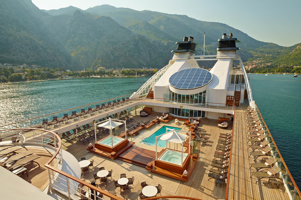 Seabourn pool deck