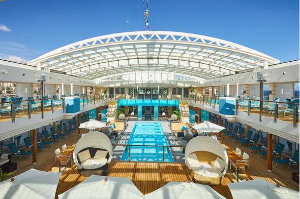Hapag-Lloyd Cruises - MS Europa 2 - Pool deck