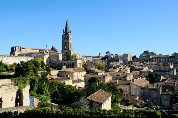Saint Emilion church, France