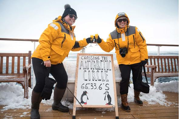 Quark Expeditions - Crossing the Antarctic Circle