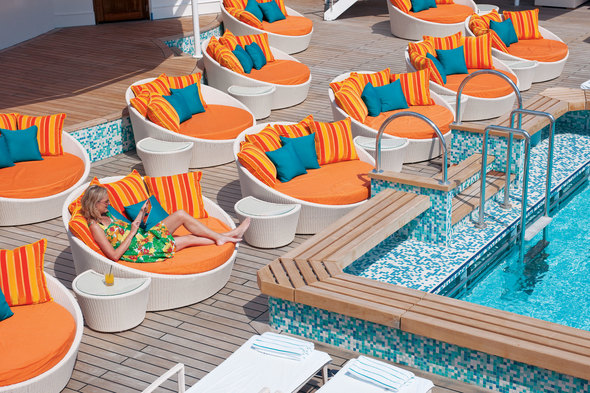 Crystal Serenity pool