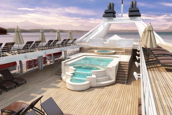 Windstar Star Plus initiative - Pool deck