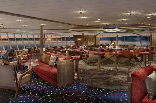 Seabourn Venture - Constellation Lounge