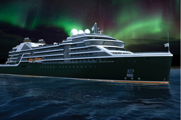 Seabourn Venture on a Northern Lights cruise - Read our interview with Robin West to find out more