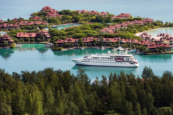 Crystal Esprit in the Seychelles