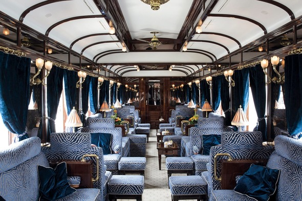 Venice Simplon-Orient-Express - Dining car