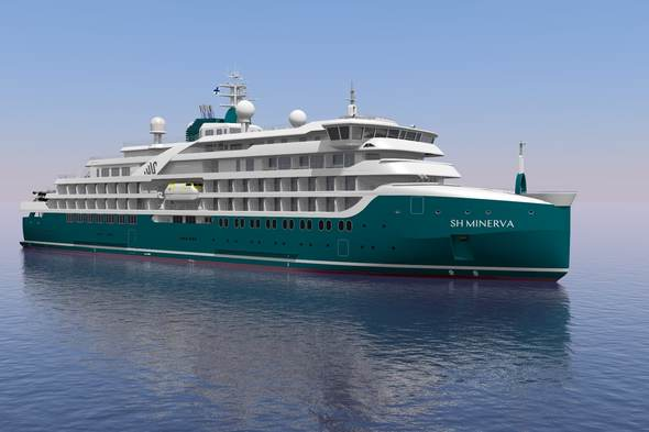 The new SH Minerva, flagship of the relaunched Swan Hellenic