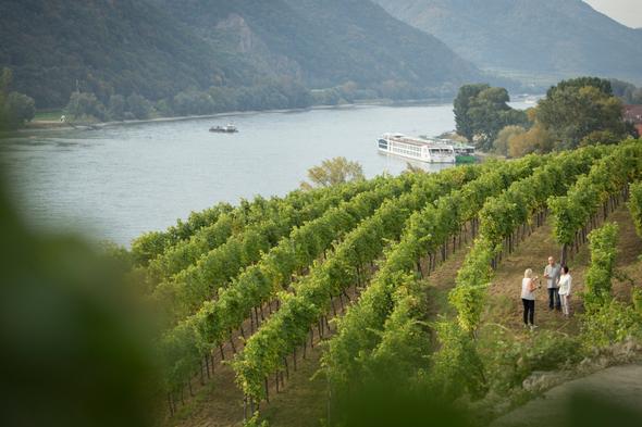 Wine tasting on a Uniworld river cruise along the Rhine