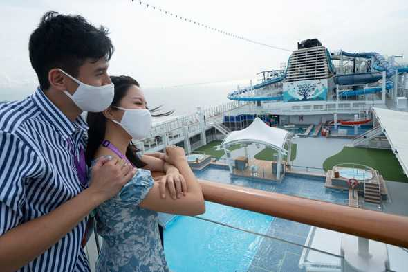 World Dream 'cruise to nowhere' from Singapore