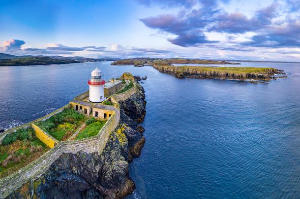 Rotten Island lighthouse, Killybegs, Ireland