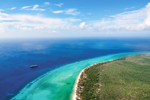 Silversea Expeditions in the Seychelles