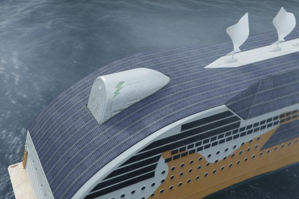 Wartsila - Green energy ship design