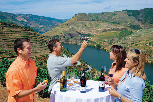 Wine tasting on an AmaWaterways Douro river cruise
