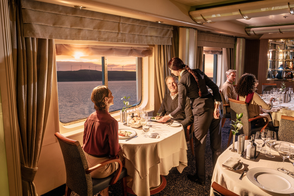 Silversea Expeditions, one of the best cruise lines with an informal dress code