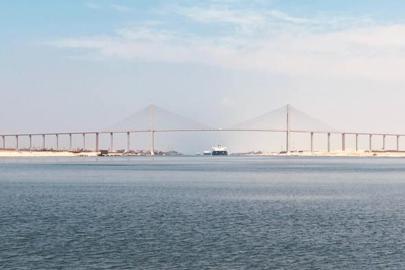 The Suez Canal, Egypt