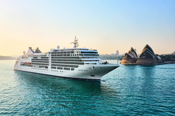 Silver Muse in Sydney, one of the highlights of an Australia cruise