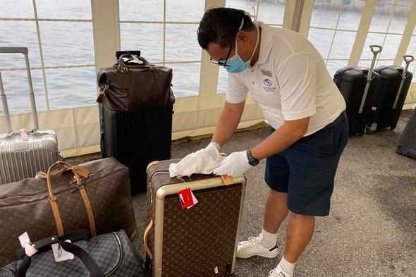 Coronavirus precautions on a SeaDream Norway cruise