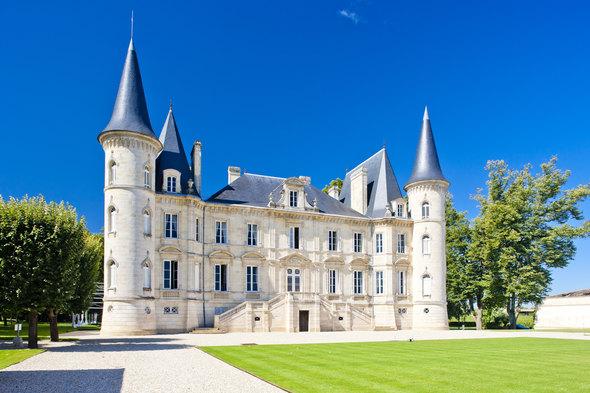 Chateau Pichon Longueville in Pauillac, France