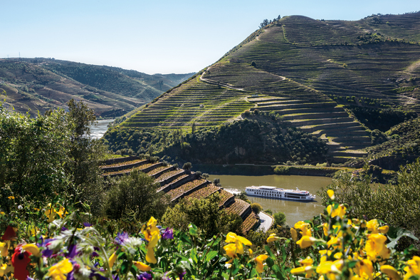 Douro river cruise on Uniworld's Queen Isabel