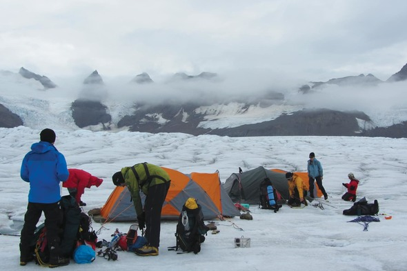 Aurora Expeditions - Camping in South Georgia