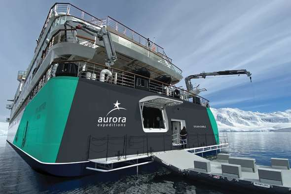 Aurora Expeditions - Sylvia Earle stern