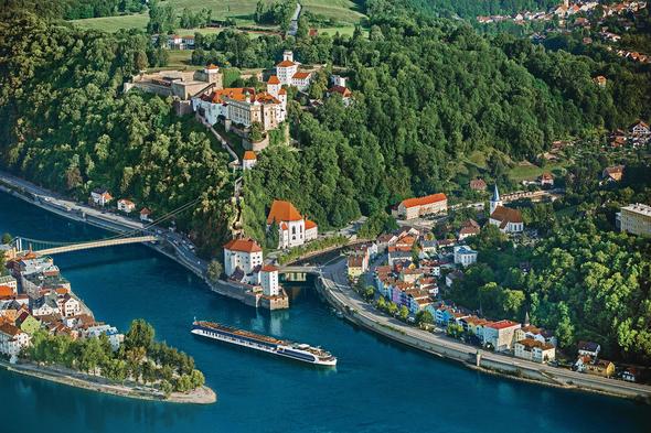 AmaWaterways - AmaPrima in Passau, Germany