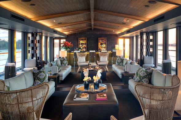 Aqua Expeditions - Aqua Nera - Indoor Lounge