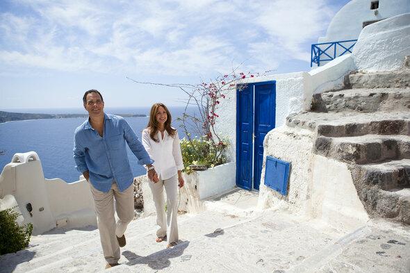 Regent Seven Seas Cruises - Shore excursion in Santorini