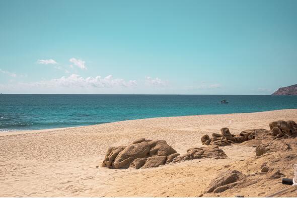 Beach in Baja California Sur, Mexico