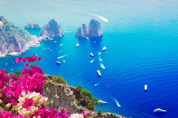 Faraglioni cliffs, Capri