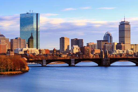 Back Bay skyline, Boston