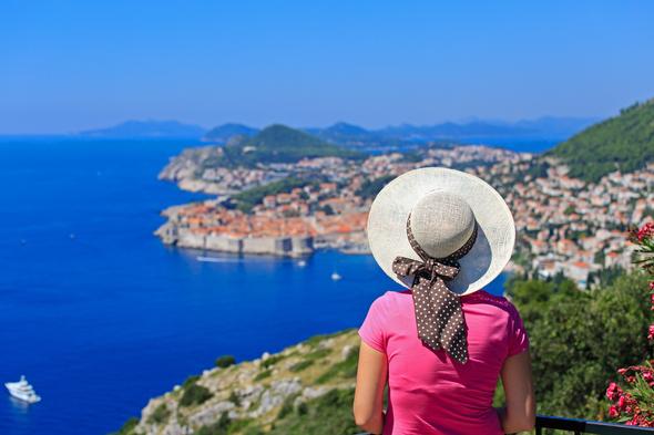 Solo traveller in Dubrovnik