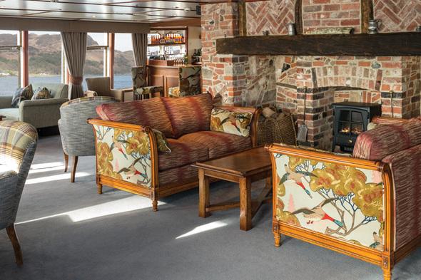 Hebridean Princess - Tiree Lounge