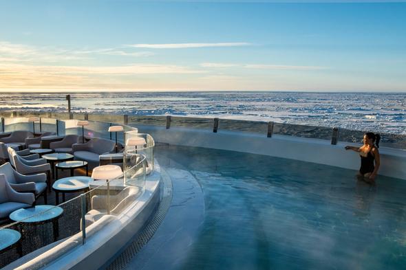 Ponant - Le Commandant Charcot - Blue Lagoon pool