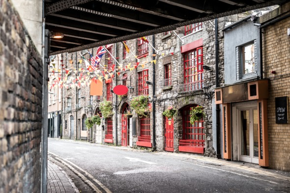 Street in Dublin, Ireland
