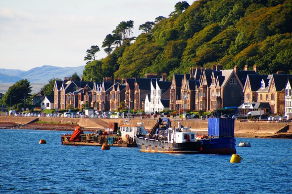 Oban bay, Scotland