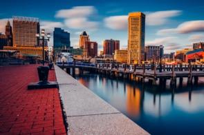 Baltimore waterfront