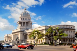 The Capitolio in Havana, Cuba