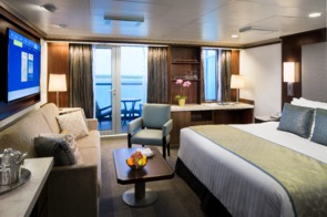 Holland America Line cruises - MS Eurodam Signature Suite