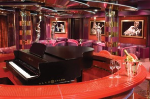 Holland America Line cruises - MS Noordam Piano Bar
