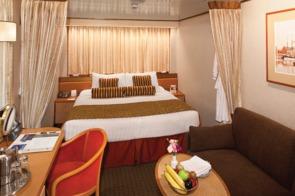 Holland America Line cruises - MS Rotterdam interior stateroom