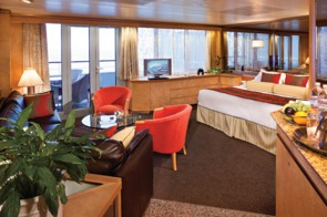 Holland America Line cruises - MS Veendam Neptune Suite