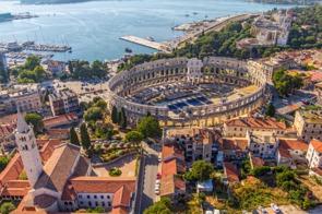 Roman theatre of Pula, Croatia