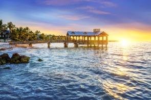 Pier in Key West, Florida