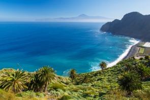 Santa Catalina beach, La Gomera
