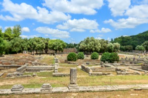 Ruins of Ancient Olympia, near Katakolon, Greece