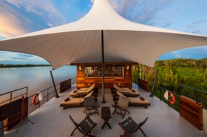 Aqua Expeditions - Aria Amazon outdoor lounge