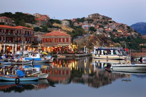 Molyvos harbour, Lesvos, Greece